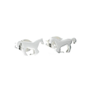 Horse Stud Hypoallergenic Earrings