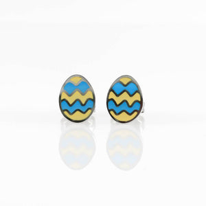 Easter Egg Hypoallergenic Earrings