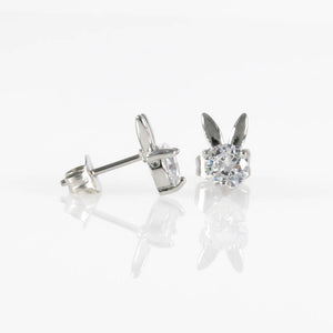 Bunny CZ Hypoallergenic Earrings