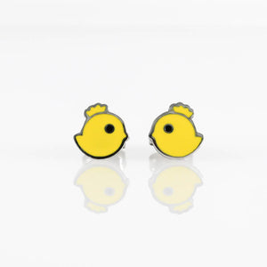 Chick Stud Hypoallergenic Earrings