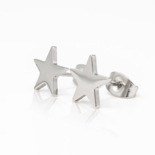 Star Stud Hypoallergenic Earrings