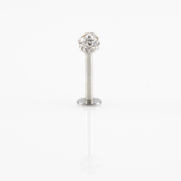 Single Shamballa Cartilage Hypoallergenic Stud