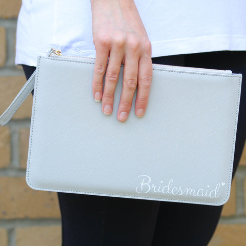 Bridesmaid Clutch Gift Bag + 20% Off Jewellery