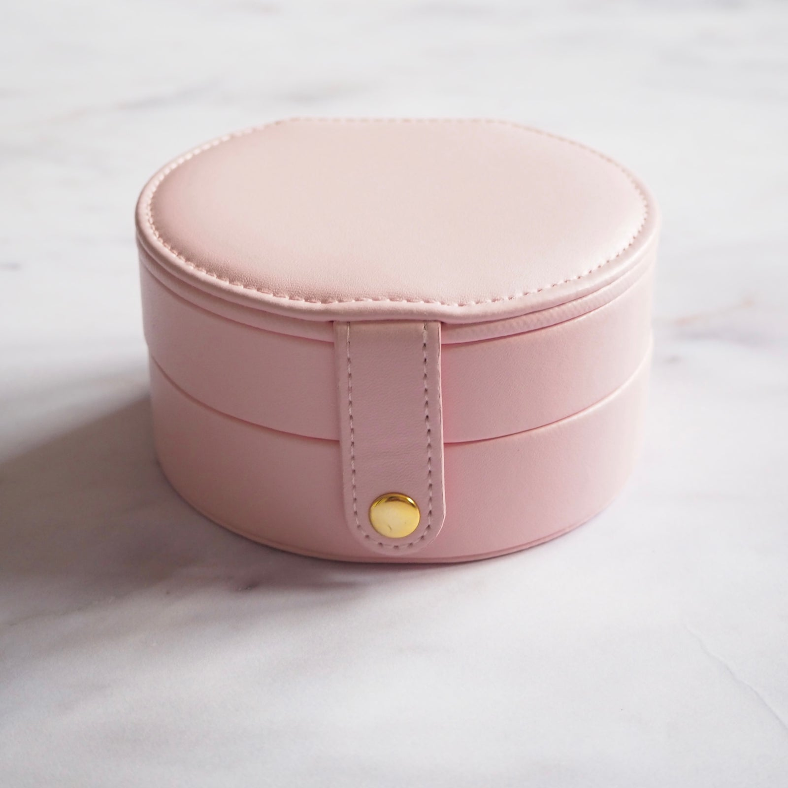 Jewellery Case - Small Round