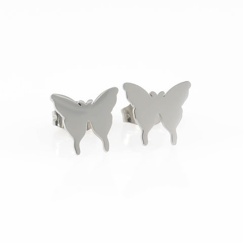 Gold Butterfly Hypoallergenic Earrings