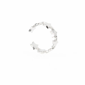 Single Star Hypoallergenic Ear Cuff
