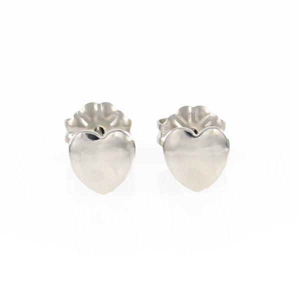 Heart Titanium Stud Earrings