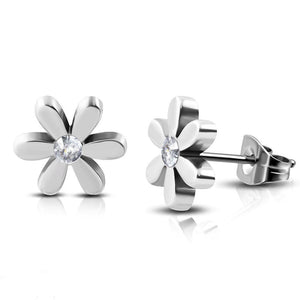 Daisy Stud Hypoallergenic Earrings