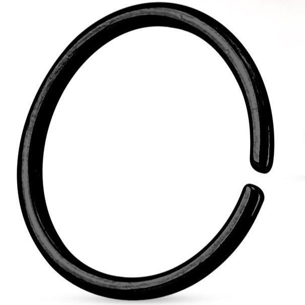 Nose/ Cartilage Hypoallergenic Ring 6mm (1mm Thick)