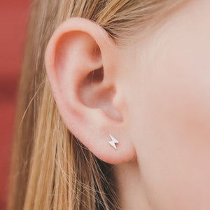 Mini Lightning Hypoallergenic Earrings