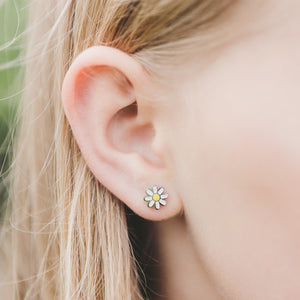 Kids Daisy Stud Hypoallergenic Earrings