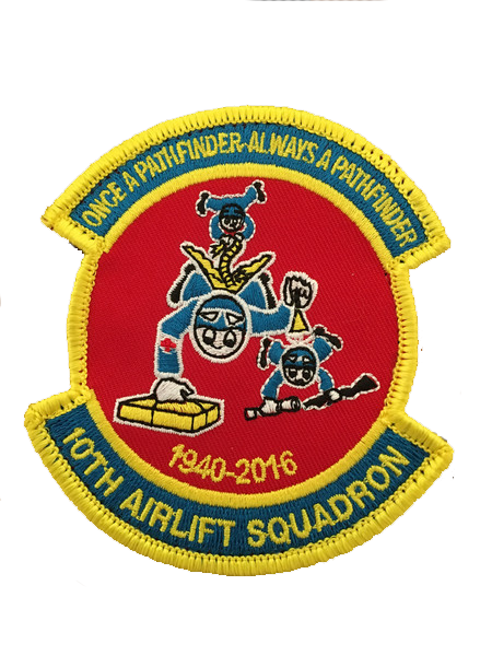 USAF 10th Airlift Retirement Patch