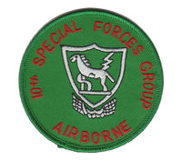 10th Special Forces Group-No Hook and Loop