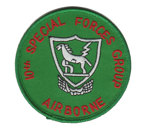 10th Special Forces Group-No Velcro