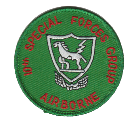 10th Special Forces Group- No Velcro