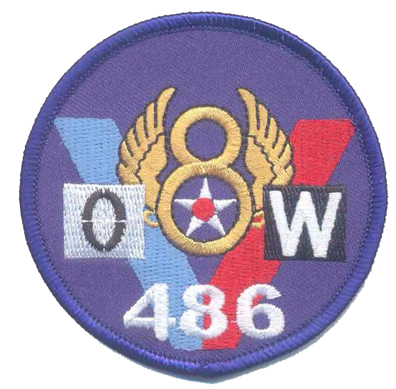 8th Air Force WWII- No Velcro