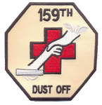 159th Dust Off-No Hook and Loop
