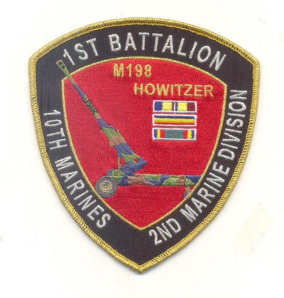 1st Bn 10th Marines 2nd MARDIV Artillery-No Hook and Loop