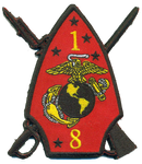 1st Bn 8th Marines Patch