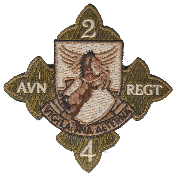 US Army 2nd Bn 4th AVN Regiment- With Hook and Loop