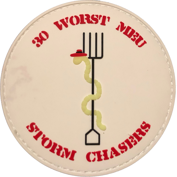 30 Worst MEU Storm Chasers PVC-With Hook and Loop