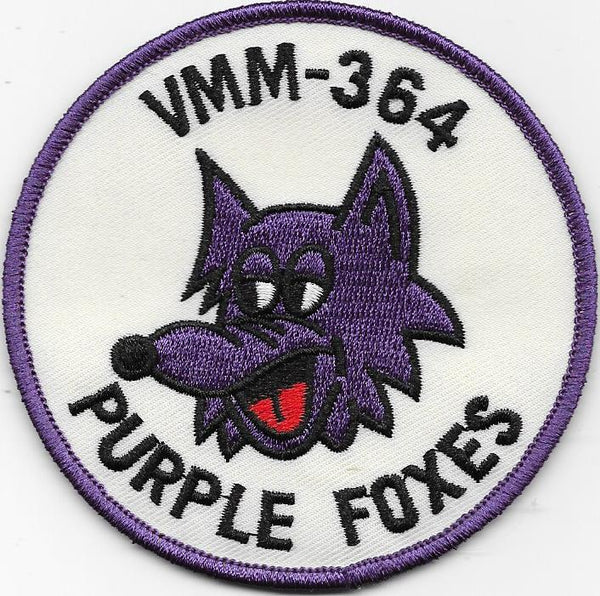 VMM-364 Purple Foxes Squadron Patches