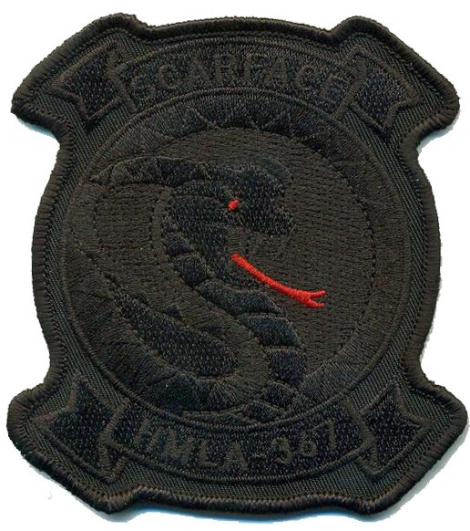 HMLA-367 Scarface Blackout Patch