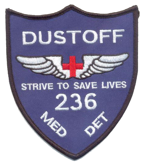 236th Dust Off-No Hook and Loop