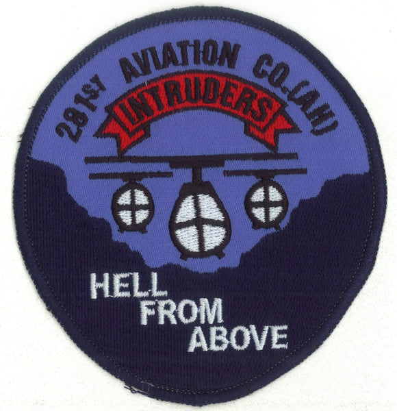 281st Aviation Company Intruders-No Hook and Loop