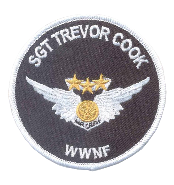 Trevor Cook Memorial Patch- No Velcro