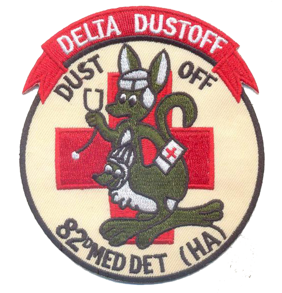 82nd Dust Off-No Hook and Loop