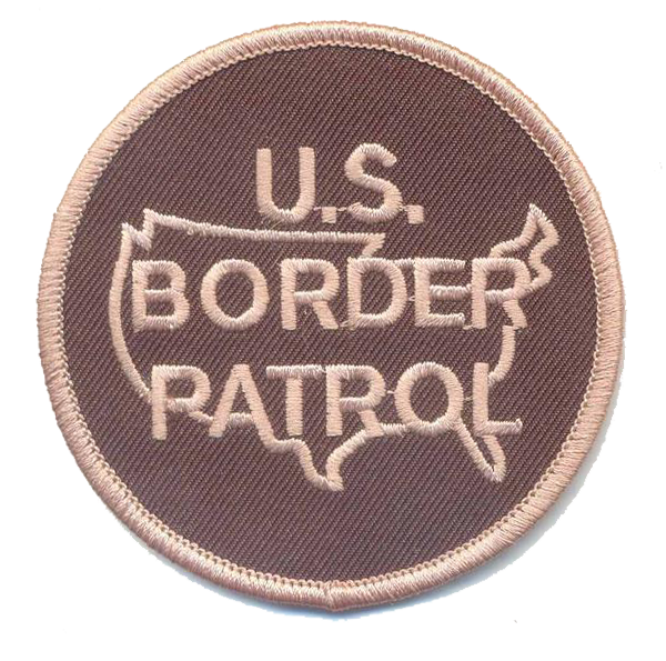 US Border Patrol in OAM colors no hook and loop