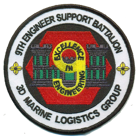 9th Engineer Support Bn- No Velcro