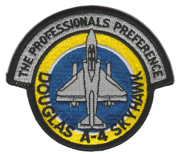 A-4 Skyhawk Professionals Preference VT-7 Colors-No Hook and Loop