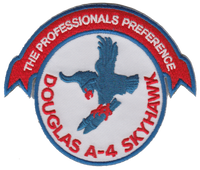 A-4 Skyhawk Professionals Preference- No Velcro