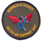 Bernalillo County Air Unit Patch-With Hook and Loop