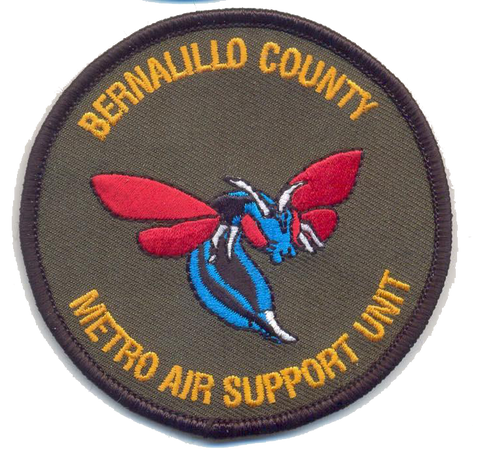 Bernalillo County Air Unit Patch - With Velcro