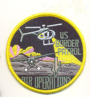 US Border Patrol Air Operations patch (Politically Correct)- No Velcro
