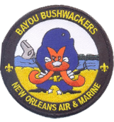 US Customs and Border Protection, New Orleans 2010 Bayou Bushwacker, Full Color with velcro