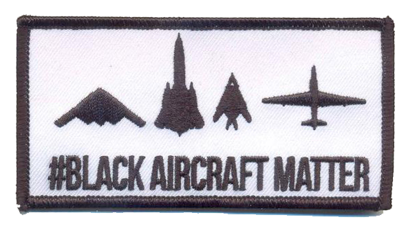 #Black Aircraft Matter- With Hook and Loop