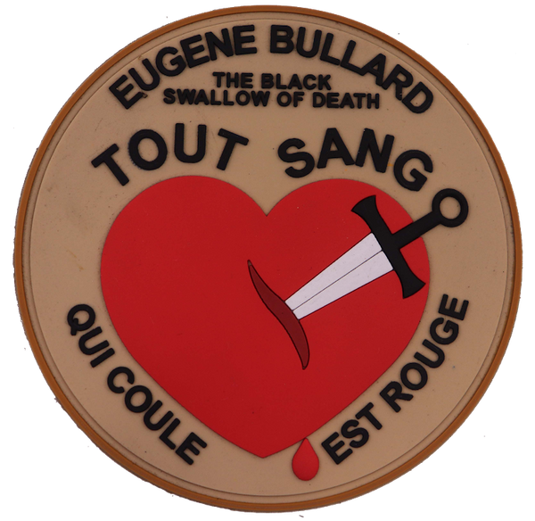 Eugene Bullard WWI Commemorative PVC Patch