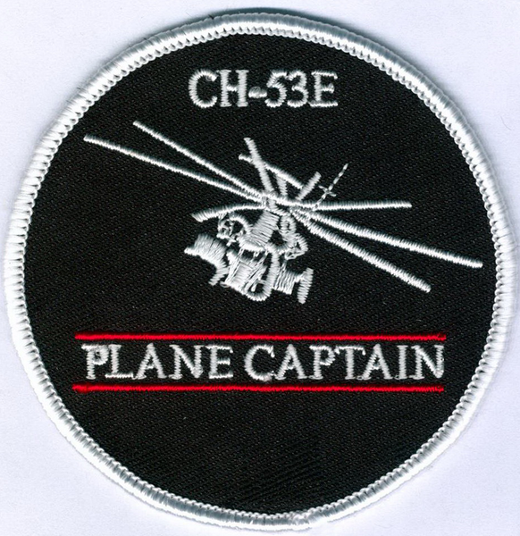 CH-53E Plane Captain-With Hook and Loop