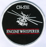 CH-53E Engine Whisperer-With Hook and Loop