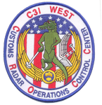 Legacy US Customs 2nd CROCC (C3I West) Patch - No Hook and Loop