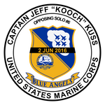 Blue Angels-Jeff Kuss Memorial Sticker