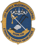 USS George Washington Carver SSBN-656- No Hook and Loop
