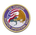 Legacy US Customs Aviation East- No Hook and Loop