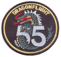 US Army Dragon Flight 55- No Hook and Loop
