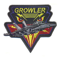 EA-18 Growler Patch