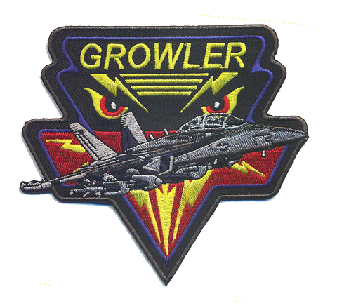 F-18G Growler Patch- No Velcro